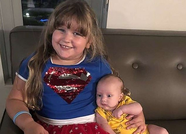 4-Year-Old Khloe Land Donates Bone Marrow to Brother with Bubble Boy Disease