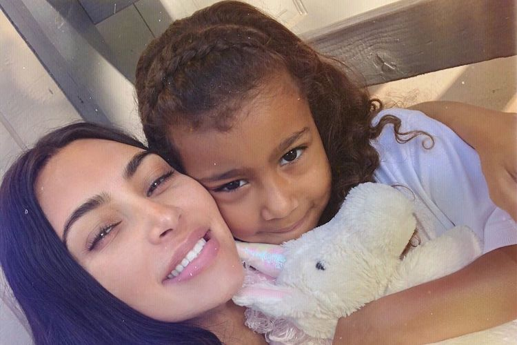 Kim Kardashian in Trouble With Kanye West After Letting North Wear Makeup