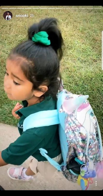 snooki shared the most adorable photos of her kids' first day of school | as kids around the country go back to school, stars are sharing their own first-day-of-school photos. recently, snooki shared an adorable picture of her two eldest children heading out for their big first day back.