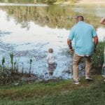 This Toddler Walked Into a Pond in the Middle of a Family Photo Shoot, and the Resulting Photos Are Absolute Perfection