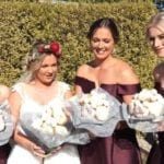 Forget Flowers! This Bride Made An Unconventional (But Delicious!) Choice For Her Bouquet