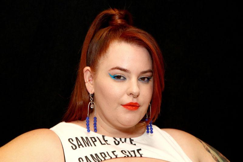 NYFW Plus size model fashion