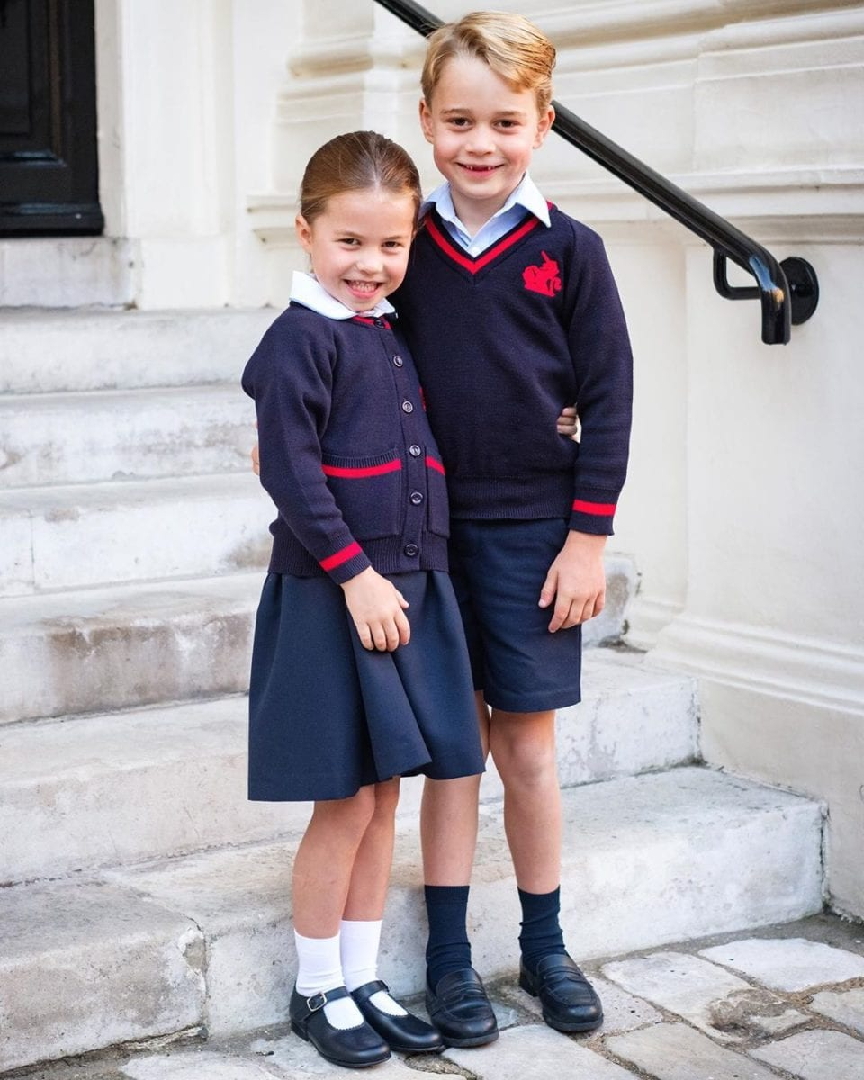 Prince George & Princess Charlotte Head back To School