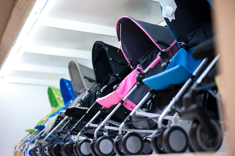 The top 5 best selling lightweight strollers