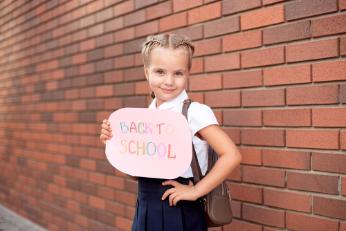 the elderly spoof the back-to-school photo tradition