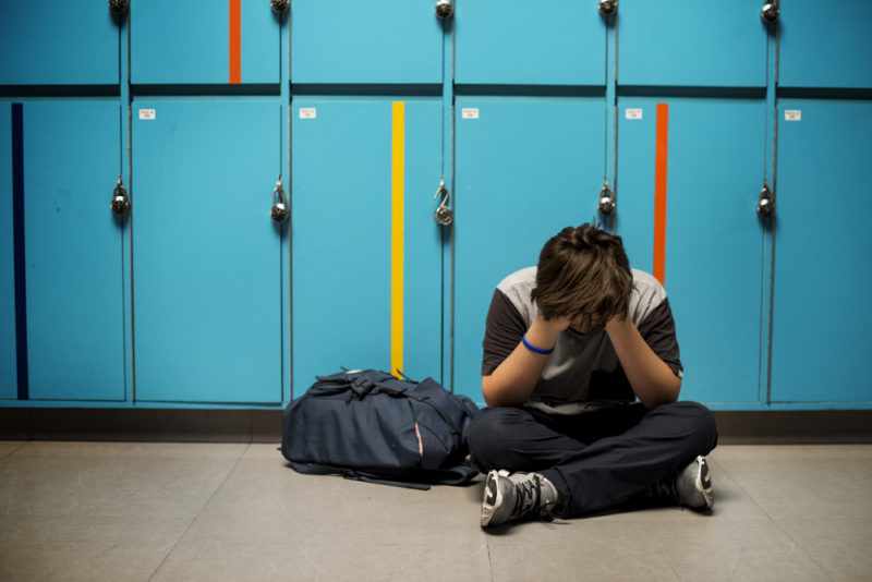 middle schoolers learned that everyone has struggles