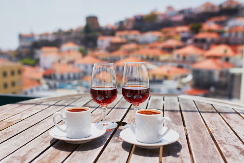 Coffee and Wine Alcohol