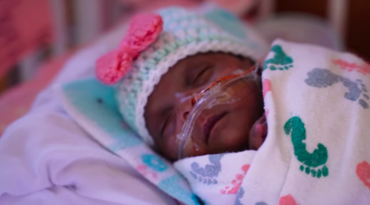 baby born 3 months premature weighing just 8.6 ounces survives & goes home   the world's tiniest surviving baby beat the odds and is now cleared to leave the nicu.