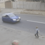 WATCH: Young Boy Hit by Car on His Way to School, But Is Miraculously Saved by His Backpack