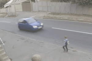 Boy Hit by Car Miraculously Survives Thanks to Backpack