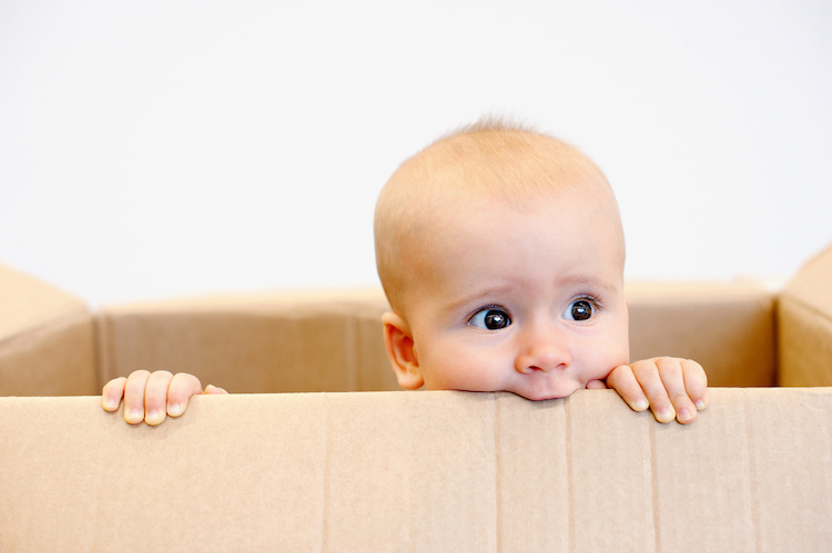 Why Finnish Babies Sleep in a Cardboard Box