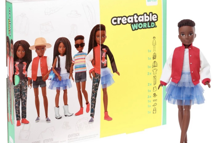 Creatable World: Mattel Launches First Gender-Neutral Dolls for Kids