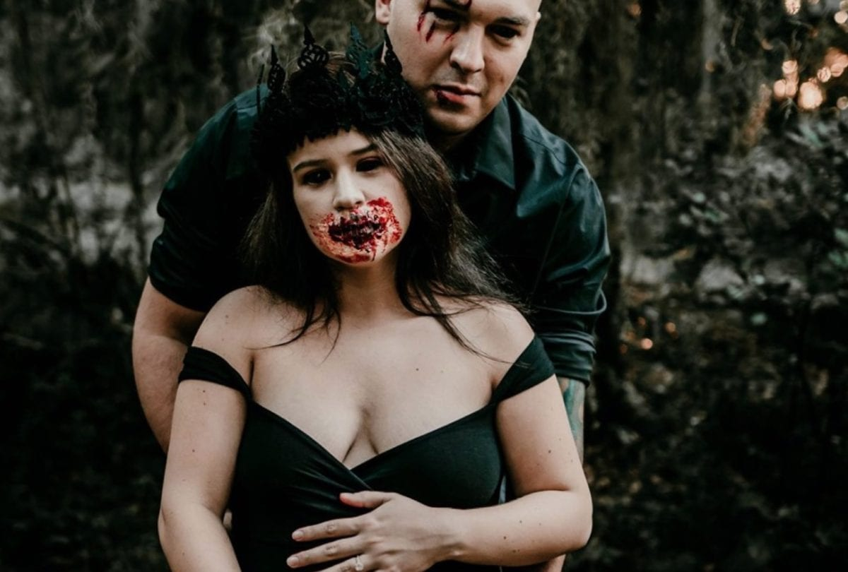 Mom and Photographer Team Together to Create Epically Terrifying Undead Maternity Photos