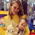 Fellow Moms Can't Get Over How Well-Behaved Chrissy Teigen's Son Was While Getting His First Haircut
