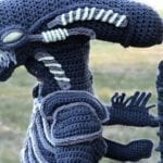 Mom Crochets Incredibly Accurate 'Alien vs. Predator' Costumes for Young Sons