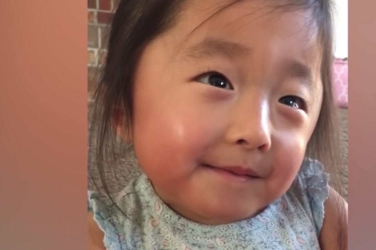 Viral Video of Little Girl Telling Adopted Mom About the Mom She Was Adopted