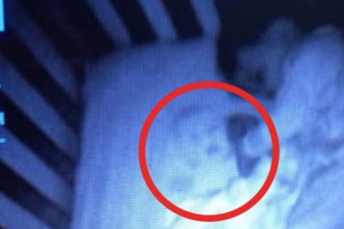 mom can't stop freaking out after finding a 'ghost baby' in her son's crib–turns out it was her husband's fault