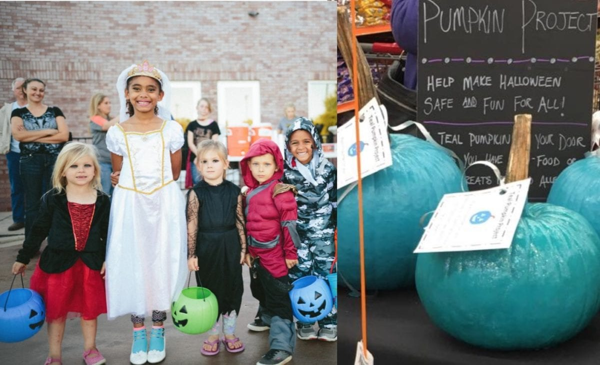 Teal Pumpkin Trend Allows Kids With Life-Threatening Food Allergies to Enjoy Halloween