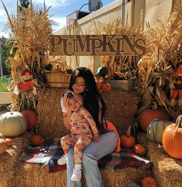 Kylie Jenner Stormi Webster Halloween