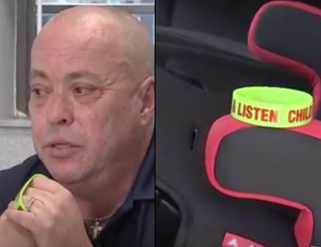 Florida Grandpa Invents Stop, Look, Listen Bracelets to Stop Hot car Deaths