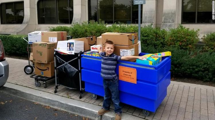 Weston Newswanger: 5-Year-Old Cancer Survivor Donates 3,000 Toys to Hospital Where He Received Treatment