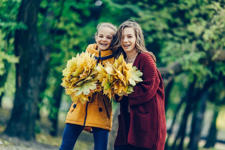 9 instagram inspired fall family photo shoot ideas