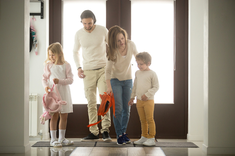 steps to take to keep your newborn healthy with older siblings in the house.