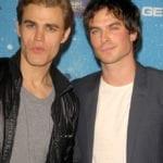 Paul Wesley & Ian Somerhalder of 'Vampire Diaries' Reunite to Create Bourbon