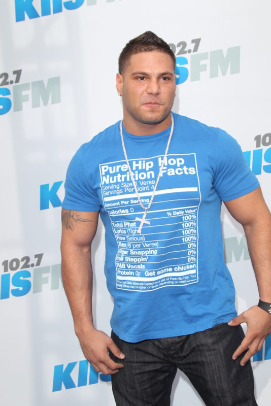 Ronnie Ortiz-Magro Arrested