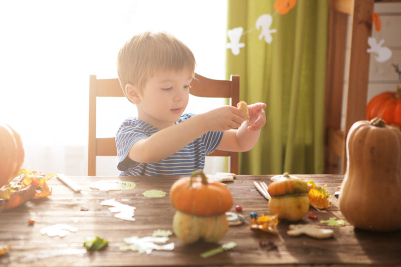 Toddler Crafts for Halloween