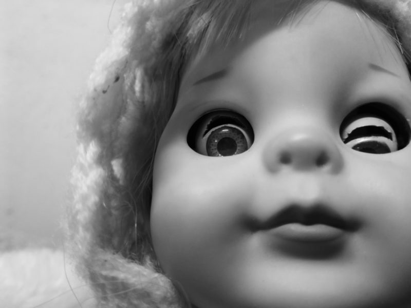 Creepy Doll in the Hall