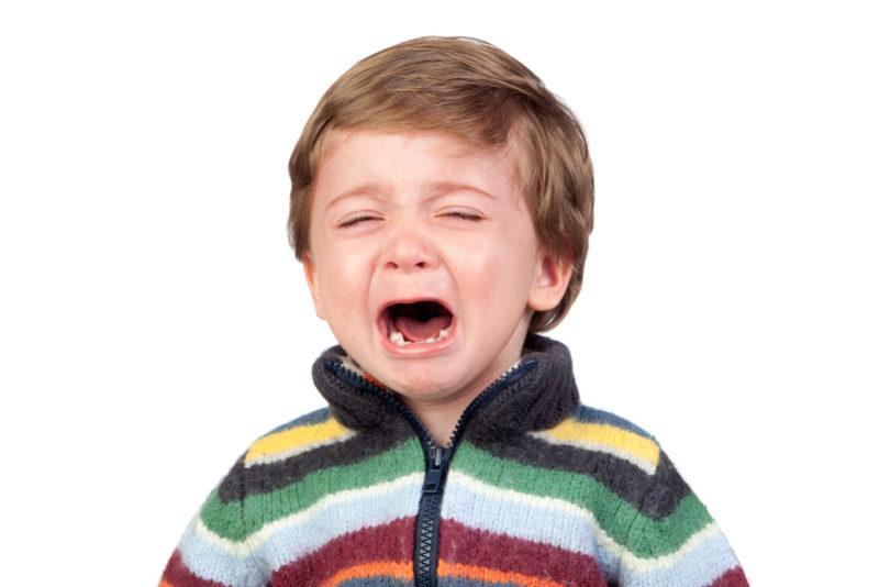 toddler crying terrible twos