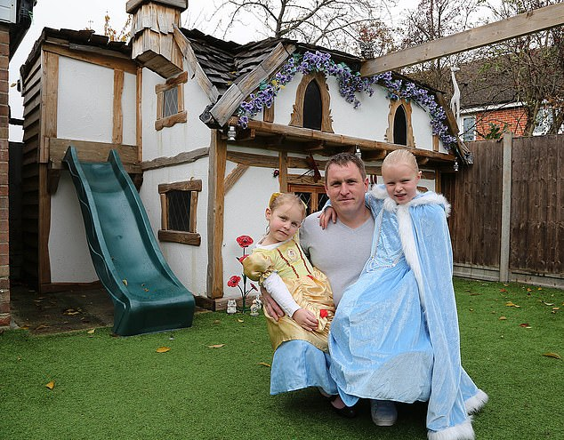 Dad Spends £5,000 to Build Elaborate Disney Playhouse for His Daughters: Take a Tour Inside