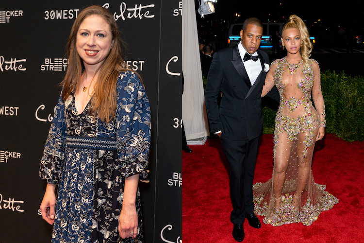 Chelsea Clinton Was Not Impressed with Jay Z's Reaction to Beyoncé's Postpartum Weight Loss