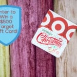 Giveaway Alert: Enter to Win a $500 Target Gift Card Just in Time for Holiday Shopping Season