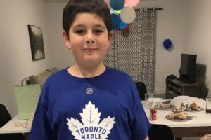 Kade Foster: No One Came to This 11-Year-Old Hockey Fan's Birthday Party, So Thousands of Others, Including the Maple Leafs and Justin Trudeau, Made His Day Instead
