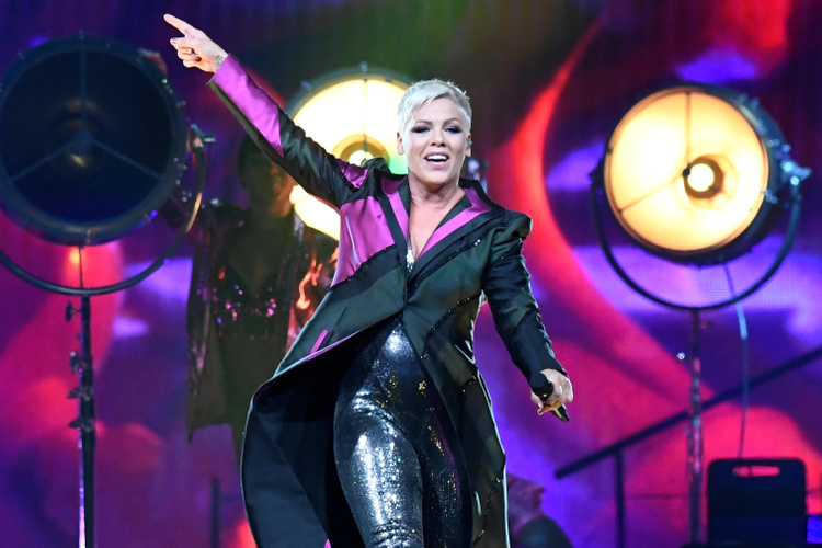 pink gets candid about what's it's like to tour as a working mom: 'there's a reason moms don't do this'