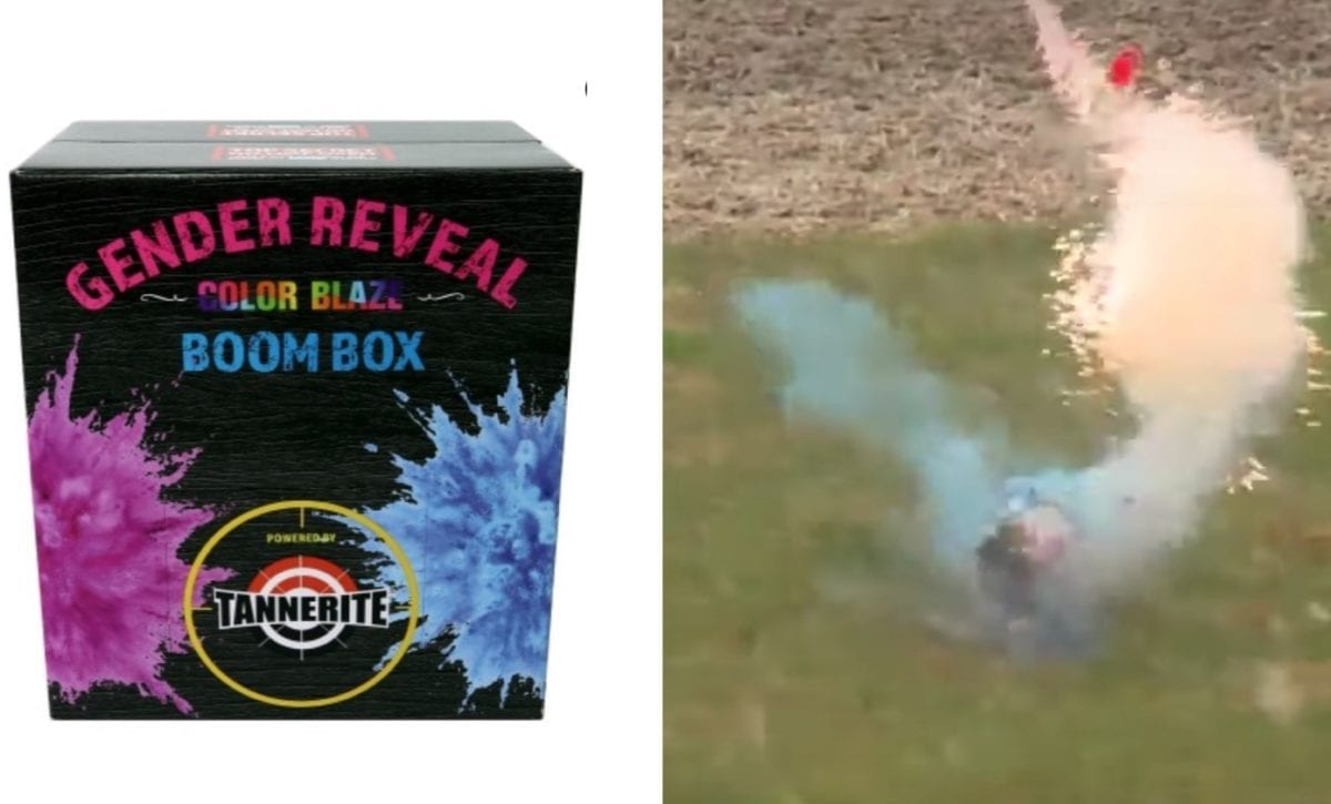 """a second explosion caused by a gender reveal rattles neighbors for miles   """"they shot it with a rifle, which is legal. they are in the county, they are not in the city limits of waukee, as far as we know its legal."""""""