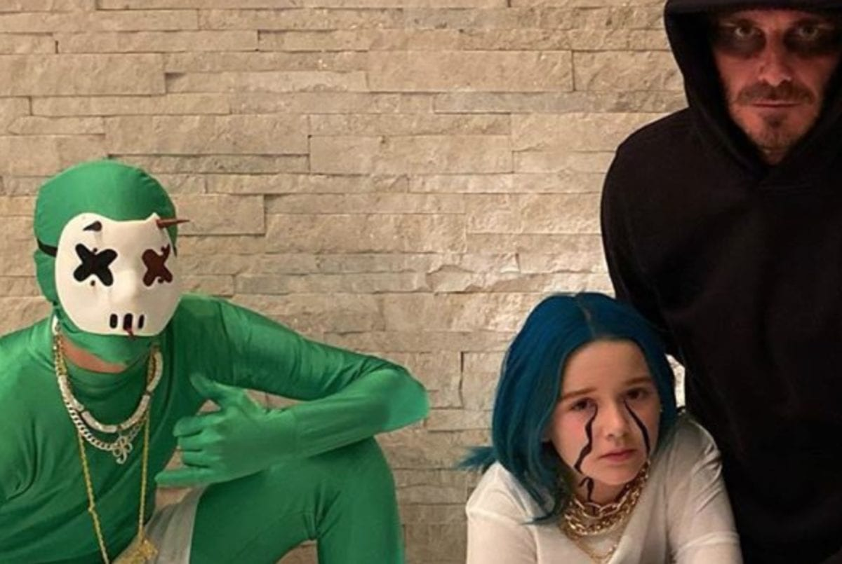 David Beckham Has Fun-Filled Week With His Kids From Showing Them His Statue to Going Trick-Or-Treating