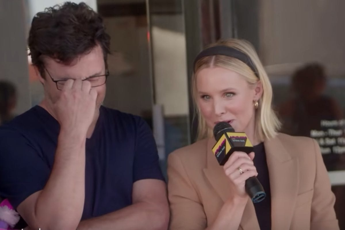 Kristen Bell and The Ellen Show's Andy Lassner Dispell 6 Vagina Myths You Might Still Believe Are Fact