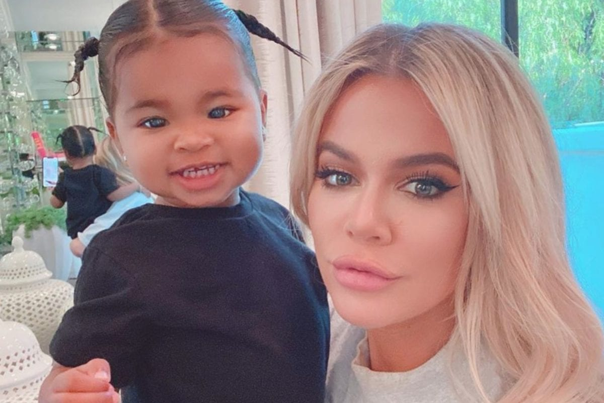 Khloe Kardashian Takes to Instagram to Praise Herself and Tristan Thompson for How Far They've Come When Co-Parenting True