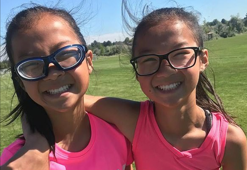 gracie rainsberry and audrey doering: separated chinese twins reunited in united states