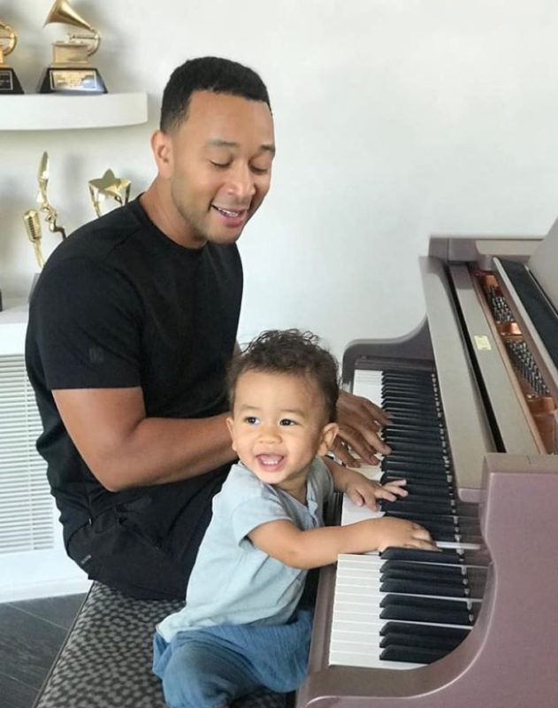 """john legend was named 'sexiest man alive' by people magazine, which also makes him the world's sexiest dad alive   """"i'm so proud that i have a wife and two kids i'm so in love with and so connected to."""""""
