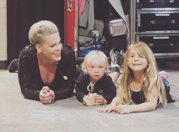 25 Photos That Prove Pink Is the Hardest Working (and Coolest) Mom in the Business