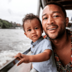 John Legend, The Rock, Ryan Reynolds, and More: 20 Celebrity Dads We're Saying Thanks For This Year
