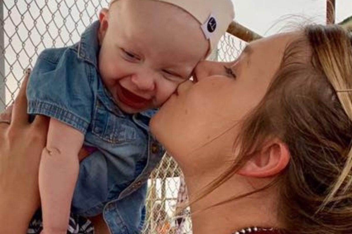 In a Moment of Intense Pain, Mom Shares Photo From the Day Her Baby Boy Died After a Valiant Battle With Cancer
