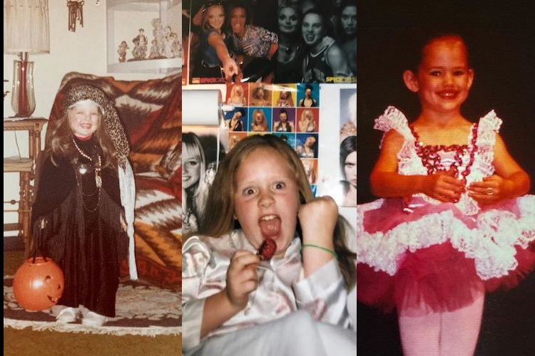 Amy Schumer, Kim Kardashian, Adele, and More: 25 Incredible #TBT Photos of Our Favorite Celebrities When They Were Kids