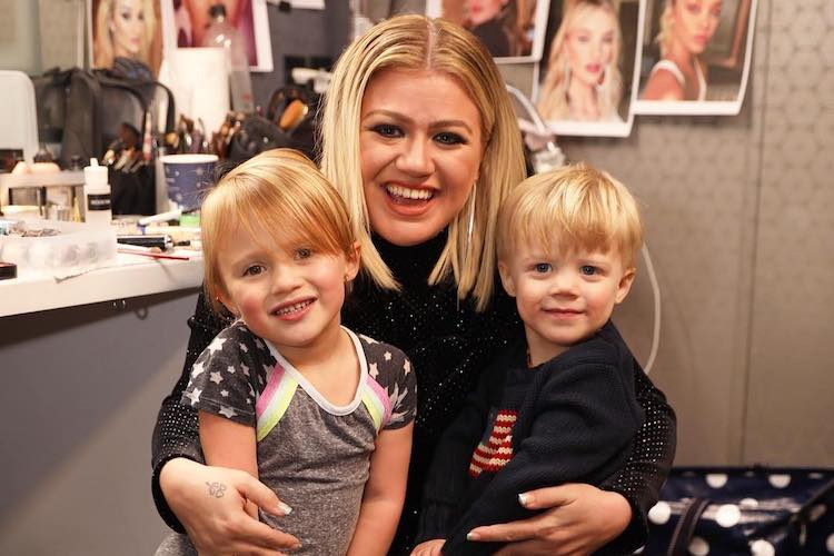 Can We Talk About How Gosh Darn Adorable Kelly Clarkson's Kids Are on Her Talk Show?