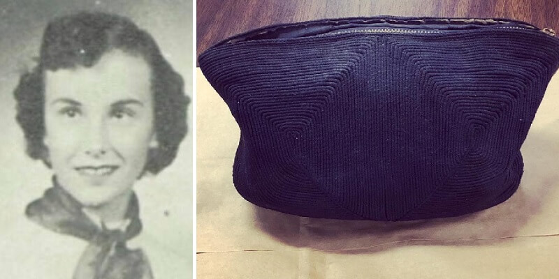 workers find purse high school student lost in 1954. its contents are a tantalizing glimpse of the past
