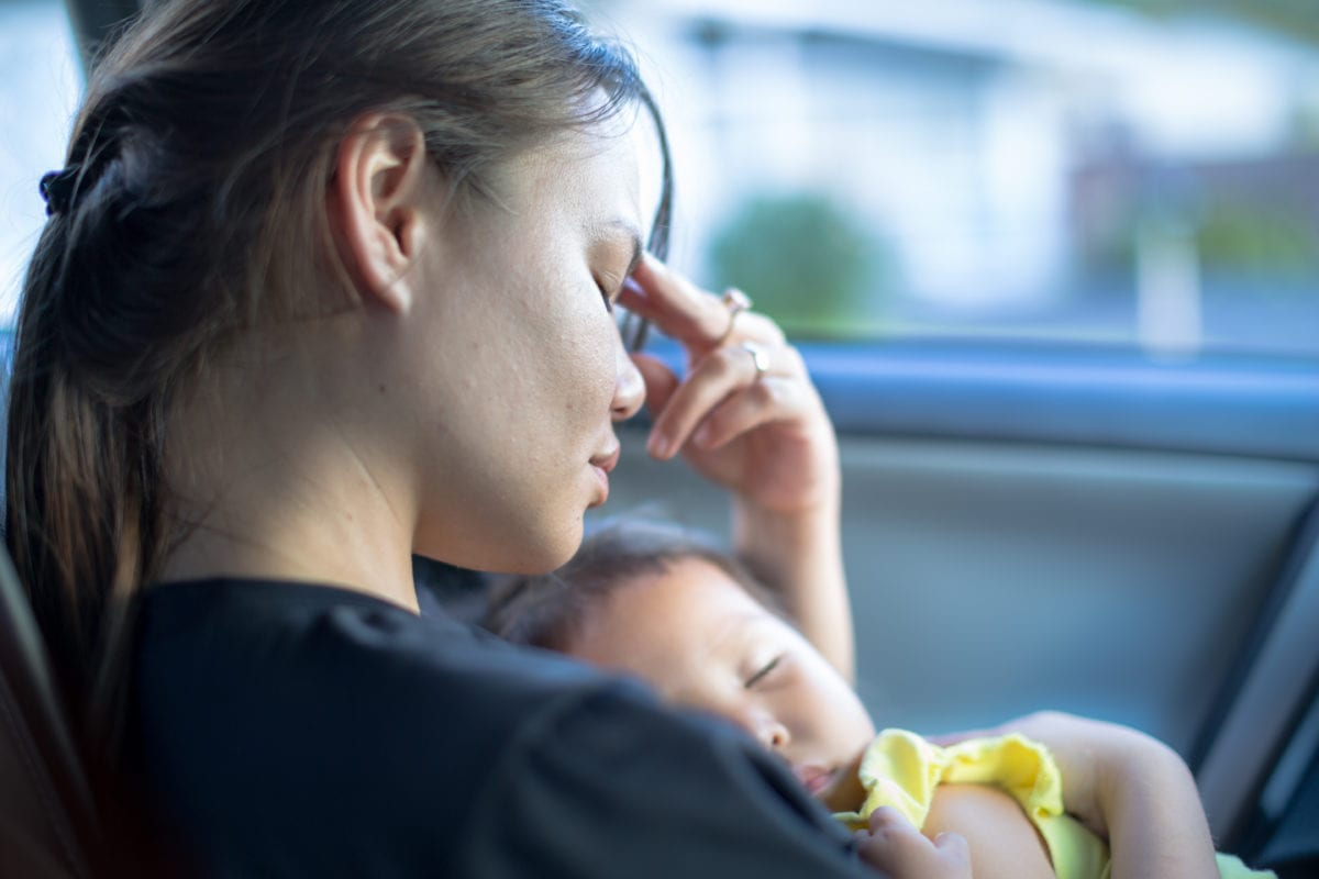 Postpartum depression: Is there a difference in postpartum depression and adjusting to mom-life?